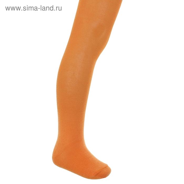 Колготки детские КДО, цвет оранжевый, рост 104-110 см