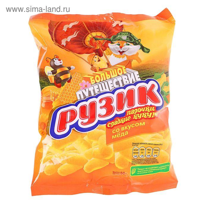 """Кукурузные палочки """"Рузик"""", со вкусом меда, 90 г"""