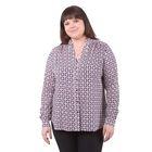 Блузка женская 51900368, цвет тёмно-синий, размер 50(5XL), рост 170