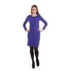 Платье женское 40200200072, размер 40 (XXS), рост 170 см, цвет синий