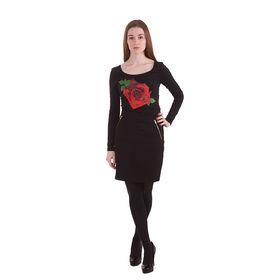 Блузка-боди женская 10200100010, размер 48 (L), рост 170 см, цвет черный Ош