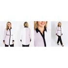 Рубашка женская удлинённая, цвет белый, размер 52 (XXL)