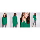 Блузка женская 40200260048 цвет зелёный, р-р 42 (XS), рост 170 см