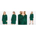 Платье женское 52000502, цвет зелёный, размер 56 (4XL), рост 170