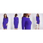 Платье женское 40200200072 цвет синий, р-р 46 (M), рост 170 см