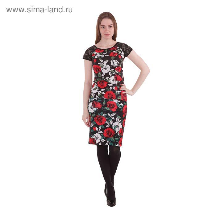 Блузка женская 10200110017, размер 44 (S), рост 170 см, цвет черный