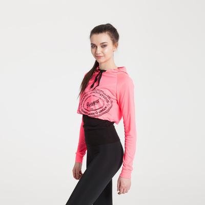 Комплект женский (топ, майка), кашкорсе/интерлок, цвет розовый, размер 44-48 (М) (арт. 04-02)