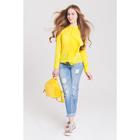 Блузка женская 40200260049 цвет жёлтый, р-р 44 (S), рост 170 см