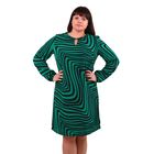 Платье женское 52000502, цвет зелёный, размер 58 (5XL), рост 170