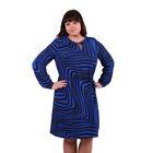 Платье женское 52000502, цвет индиго, размер 52 (XXL), рост 170