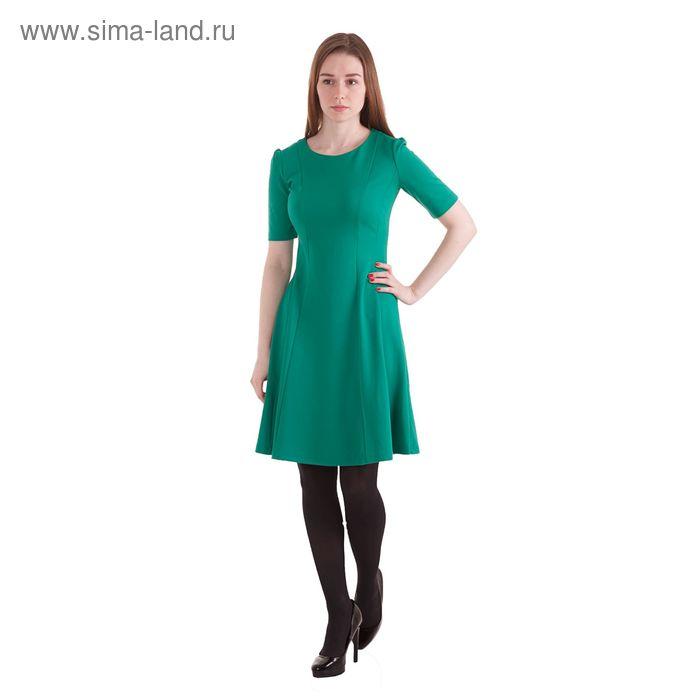 Платье женское, размер 50 (XL), рост 170 см, цвет зелёный (арт. 40200200073 С+)