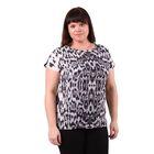 Блузка-топ женская 51100276, цвет чёрный, размер 50(XL), рост 170