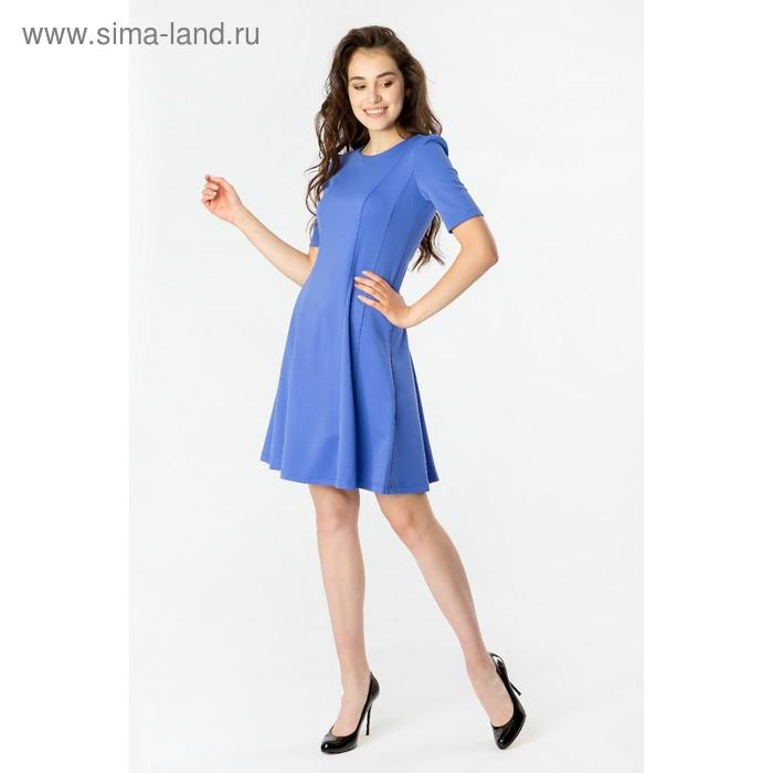 Платье женское 40200200073, размер 46 (M), рост 170 см, цвет синий