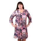 Платье женское 52000483, цвет бордо, размер 58 (5XL), рост 170