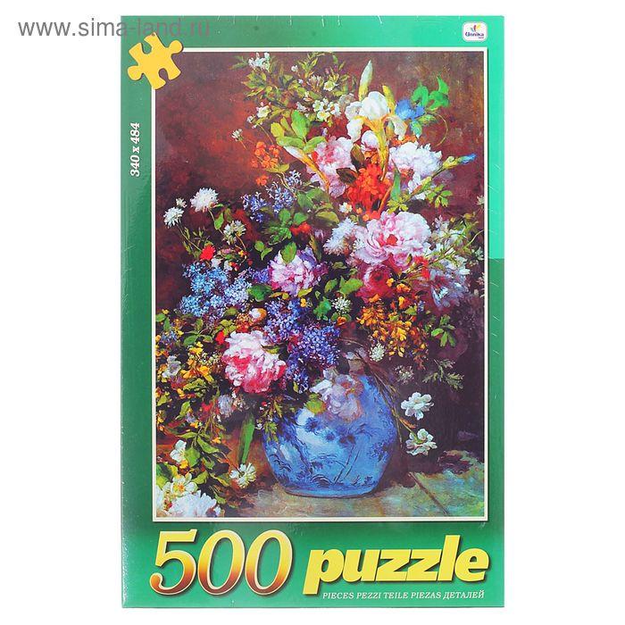 """Пазлы """"Цветы. Живописный букет"""", 500 элементов"""