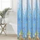 """Shower curtain 180×180 cm """"Fish"""", PEVA"""