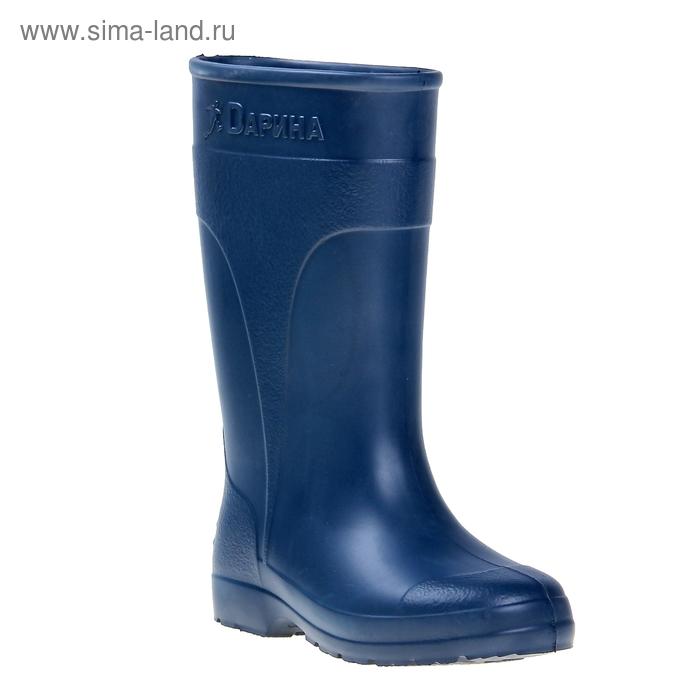 Сапоги женские ЭВА арт. Д500-К, без утеп, выс.34 (синий) (р. 39/40)