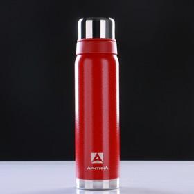 """Термос """"Арктика"""", 900 мл, вакуумный, красный"""