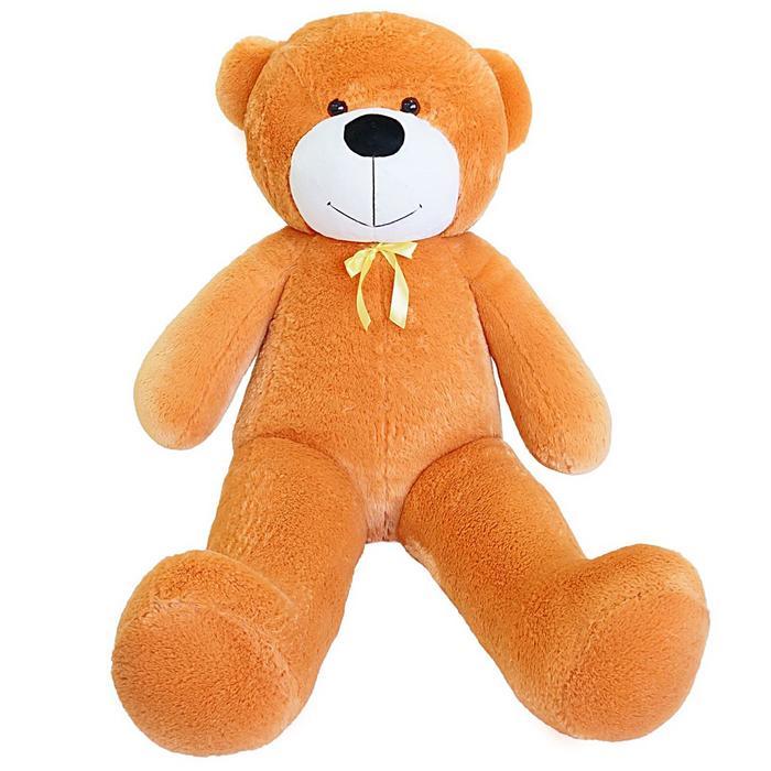 Мягкая игрушка «Мишка Фёдор», 145 см, цвет карамельный