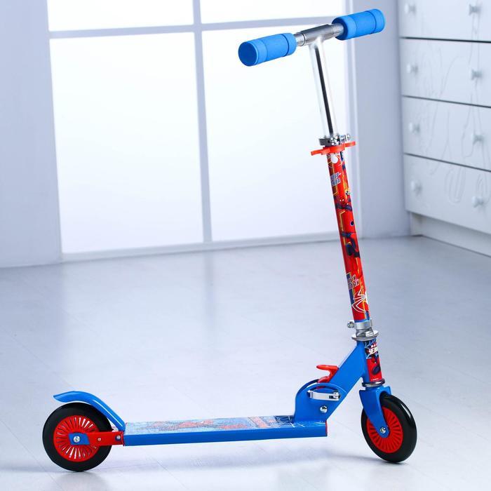 """Самокат детский """"Человек Паук"""", колеса PVC d=120 мм"""