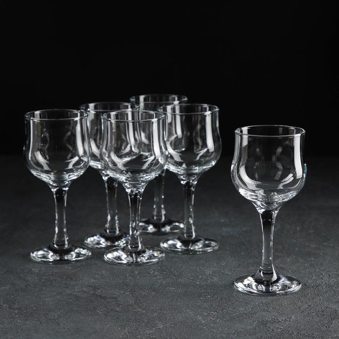 Набор бокалов для белого вина Tulipe, 208 мл, 6 шт - фото 602706