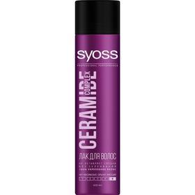 Лак для волос Syoss Ceramide Complex «Укрепление», максимально сильная фиксация, 400 мл