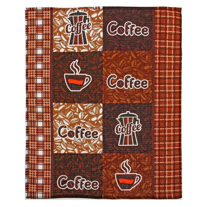 """Полотенце вафельное """"Collorista"""" Кофейный аромат (вид 2) 47*62±2, 100% хлопок,145 г/ м2"""