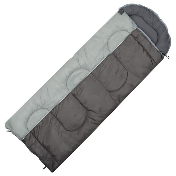 Спальный мешок Dream 300XL, размер 190+35х85 см, -5/+10 °С, цвет коричневый