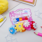 Set hair 8 PCs (4 crab, 4 erasers) Fialka double flower