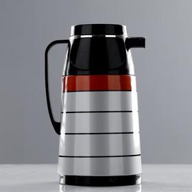 """Термос-кофейник """"Волна"""", 1 л, сохраняет тепло 10 ч, 15х24 см, микс"""