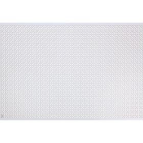 Панель перфорированная ХДФ  Эфес Белый 680х1000х3 мм Ош