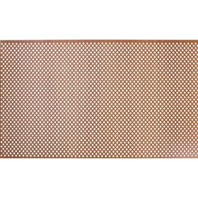 Панель перфорированная ХДФ  Глория Вишня 600х1200х3 мм Ош