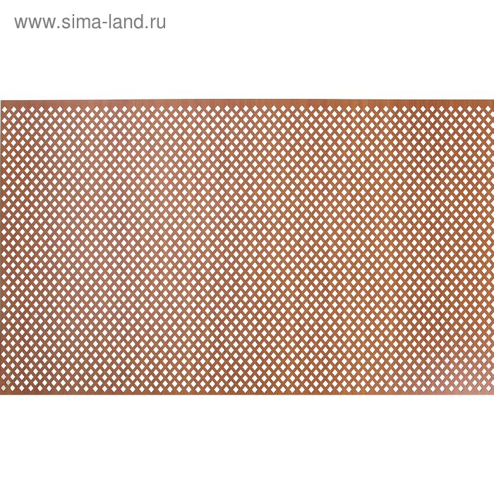 Панель перфорированная ХДФ  Глория Вишня 600х1200х3 мм