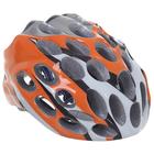 Шлем велосипедиста взрослый ОТ-T39, оранжевый, диаметр 54 см