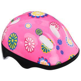 Шлем защитный OT-SH6 детский, размер S (52-54 см), цвет розовый