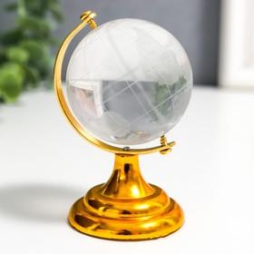 """Сувенир стекло """"Глобус"""" 5х8 см"""