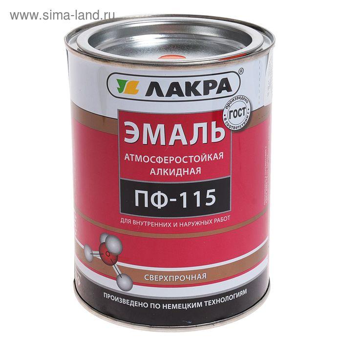 Эмаль ПФ-115  оранжевая 1,0 кг