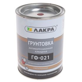 Грунт ГФ-021  красно-коричневый 1 кг Ош