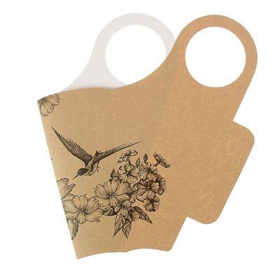 """Пакет для цветов """"Колибри"""", кувшин, 37 х 18 см"""