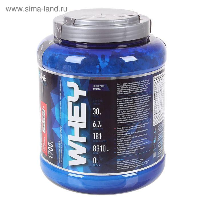 Протеин WHEY  1700 г Клубника