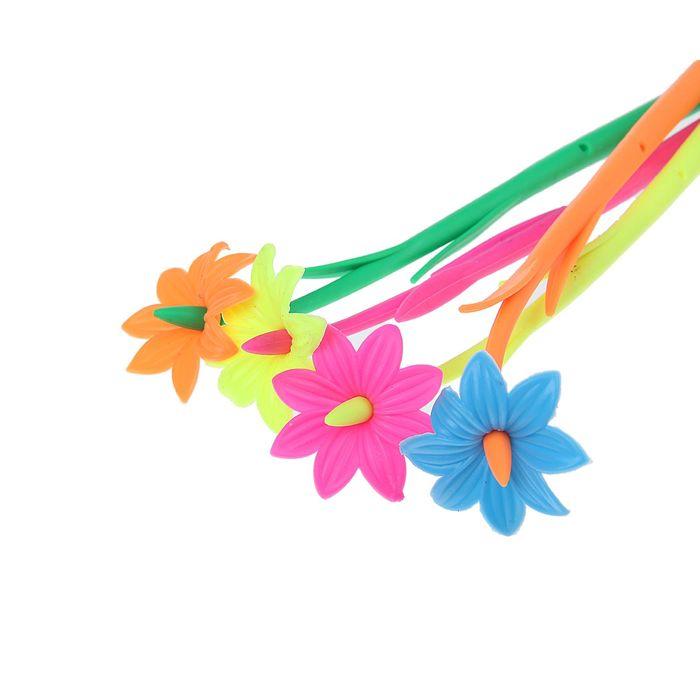 Ручка шариковая-прикол, «Цветок», МИКС