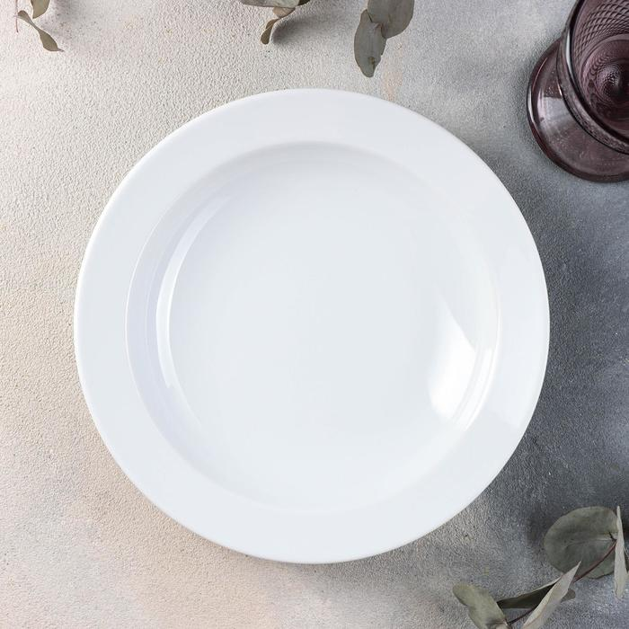 "Тарелка глубокая d=22,5 см ""Белье"""