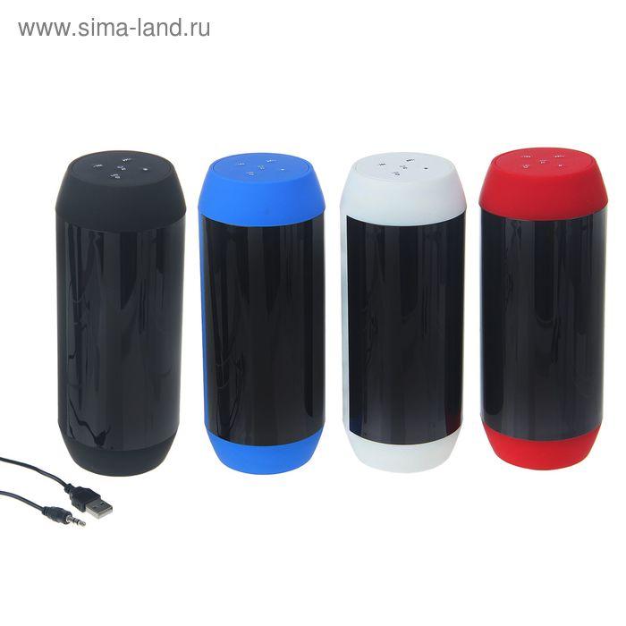 Беспроводная портативная колонка Hi-Tech18,Bluetooth,АКБ,6W,USB,MicroSD, LED подсветка микс