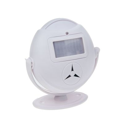Охранная сигнализация с датчиком движения, регулировка мелодии и звука, 3 ААА, белая