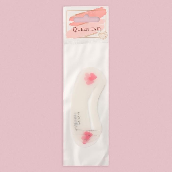 Набор трафаретов для макияжа и коррекции бровей, 3 шт