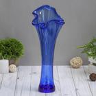 """Vase """"Wave"""" blue"""