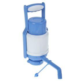 Помпа для воды LESOTO Universal, механическая, под бутыль от 11 до 19 л, голубая