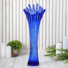 """Vase """"coral"""", blue"""