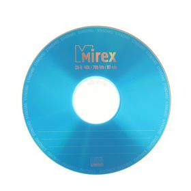 Диск CD-R Mirex Standard, 48x, 700 Мб, Конверт, 1 шт Ош