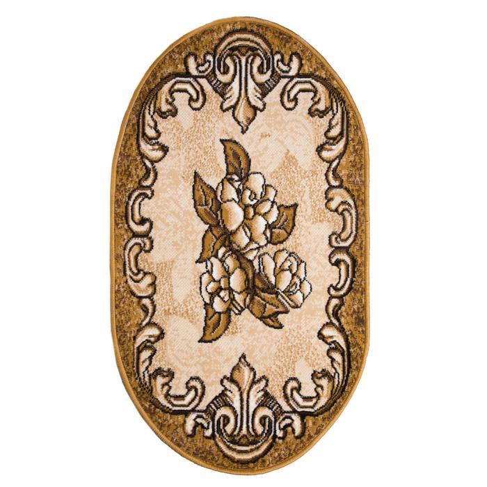 Ковёр Золушка, размер 100х200 см, овальный 01/038